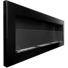 Биокамин Simple Fire Frame 1200 черный со стеклом