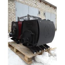 Печь булерьян отопительно варочная с перфорацией Hott (Хотт) Тип-02 -400 м3