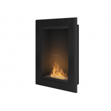 Биокамин Simple Fire Frame 550 черный со стеклом