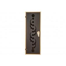 Дверь для бани и сауны Tesli Вальс 1900 х 700