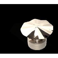 Версия-Люкс (Кривой-Рог) Грибок утепленный из нержавейки, диаметр 200мм