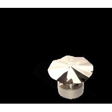 Версия-Люкс (Кривой-Рог) Грибок утепленный из нержавейки, диаметр 130мм