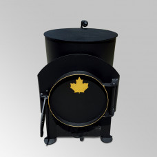 Буржуйка Canada с варочной поверхностью до 75 м³