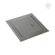 Дверца ревизионная 15x15см серебряная с ручкой