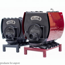 Печь булерьян отопительно варочная Hott (Хотт) Тип-02 -400 м3