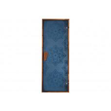 Дверь для хамама Сезам Blue 1900 х 700