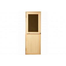 Дверь для бани и сауны Tesli Макс Новая 1900 х 700