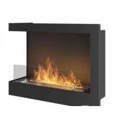 Биокамин Simple Fire Corner 600 L со стеклом