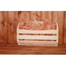 Полка Greus с гималайской солью 10 кг для бани и сауны