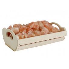 Ящик Greus с гималайской солью 10 кг для бани и сауны
