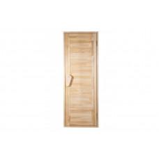 Дверь для бани и сауны Глухая Зебра 1900 х 700