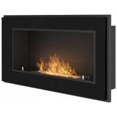 Биокамин Simple Fire Frame 900 черный со стеклом
