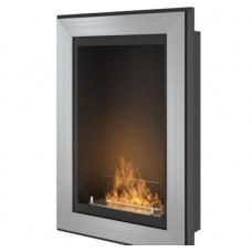 Биокамин Simple Fire Frame 550 серый со стеклом