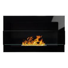 Биокамин Simple Fire Blacbox 900 черный со стеклом
