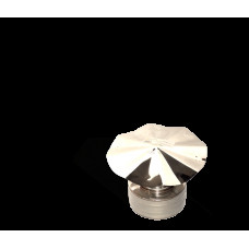 Версия-Люкс (Кривой-Рог) Грибок утепленный из нержавейки, диаметр 140мм