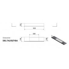 Стекло для биокамина Delta 2 (комплект стекло и подставка)