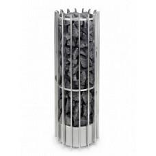 Дизайнерская электрокаменка Helo Rocher 105DE хром 10,5 кВт
