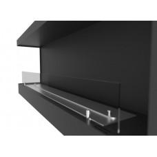 Биокамин Simple Fire Corner 1200 L со стеклом