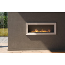 Биокамин Simple Fire Frame 1200 белый со стеклом