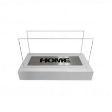 Биокамин Globmetal Home белый