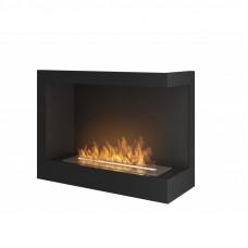 Биокамин Simple Fire Corner 600 R со стеклом