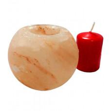 Гималайская розовая соль Подсвечник Шар для бани и сауны
